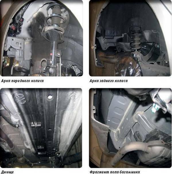 Как покрыть антикором свой автомобиль? с фото