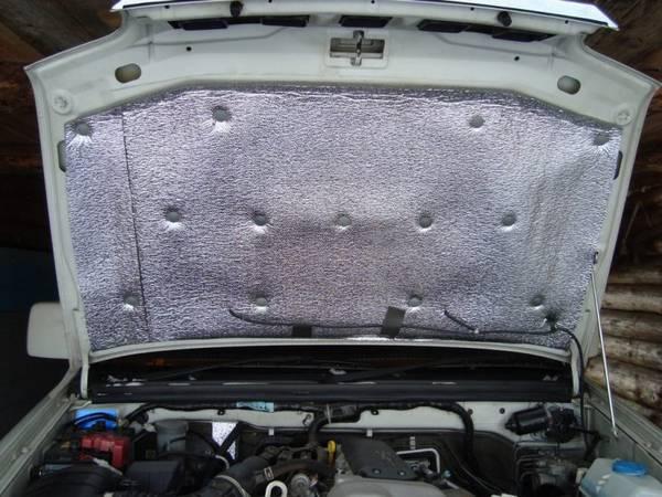 Чем утеплить двигатель авто на зиму своими руками 48