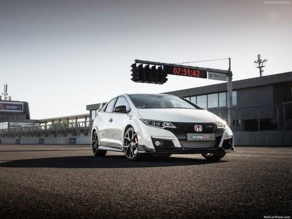 Honda Civic Type R 2015: до 268 без ограничителей - фото