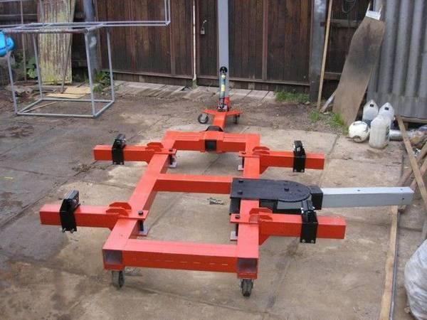 Стапель для кузовного ремонта сделать своими руками