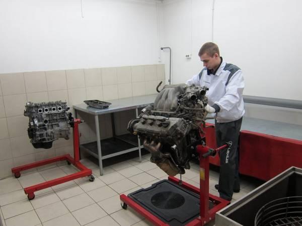Стенд для ремонта двигателя своими руками 20