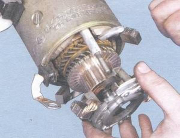 Замена щёток на стартере на ваз 2109 своими силами
